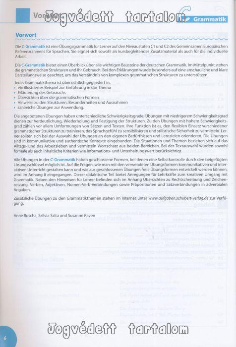 c grammatik 220bungsgrammatik deutsch als fremdsprache