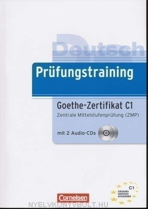 Prüfungstraining Goethe Zertifikat C1 Mit Cds Nyelvkönyv