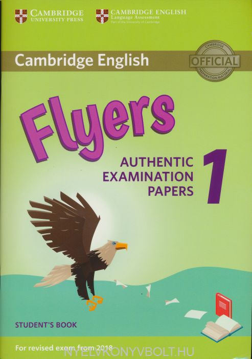 cambridge english flyers 1 student u0026 39 s book for revised exam