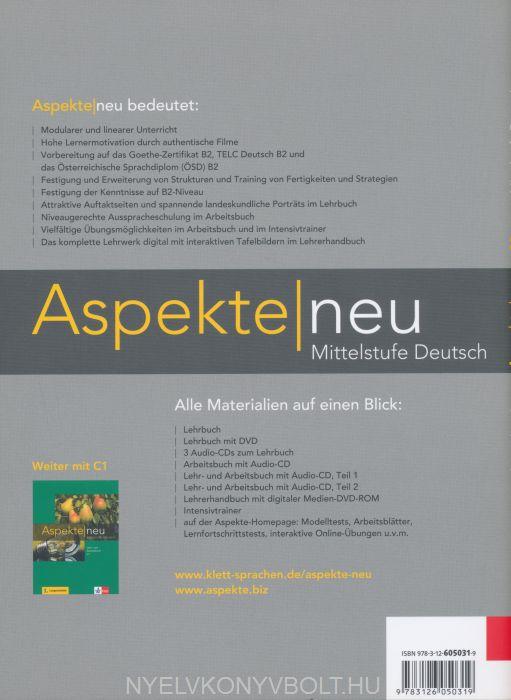Aspekte Neu B2 Mittelstufe Deutsch Intensivtrainer Nyelvkönyv