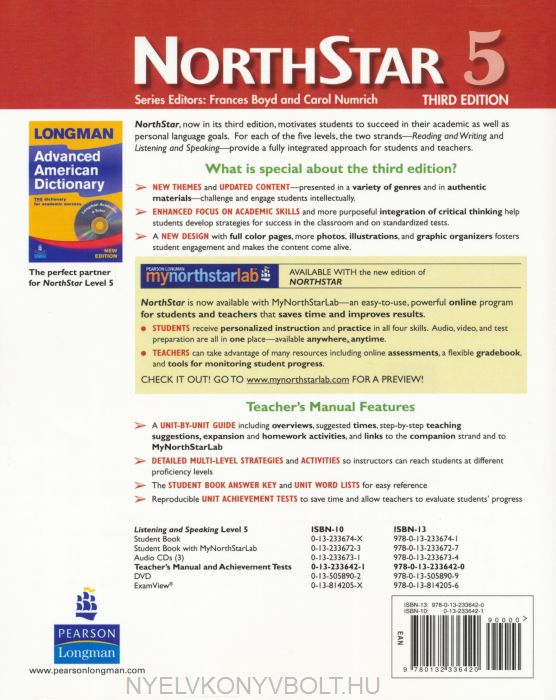 North Star 5 Listening and speaking Answer Key