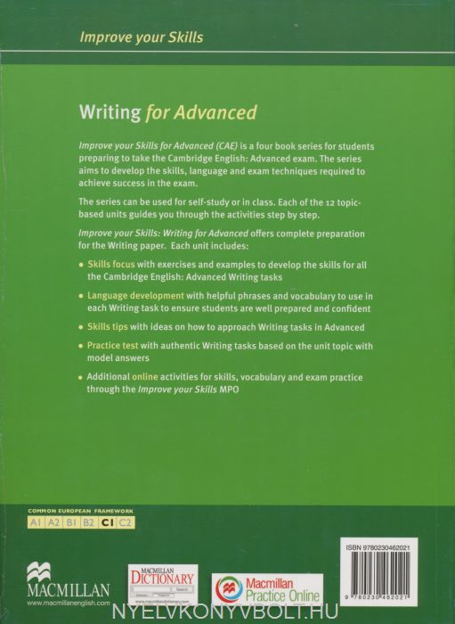 Improve Your Skills Writing for Advanced Student\'s Book with Answer ...