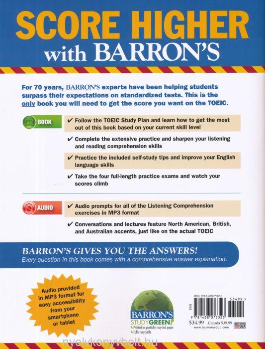 Barrons Toeic 6th Edition Pdf