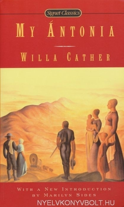 an analysis of parallels and imagery in the novel my antonia by willa cather O pioneers is a 1913 novel by american author willa cather, written while she was living in new yorkit is the first novel of her great plains trilogy, followed by the song of the lark (1915) and my Ántonia (1918.