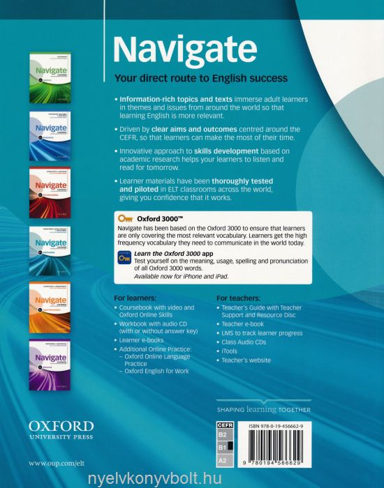Navigate B1+ Intermediate Coursebook with DVD-Rom (Video