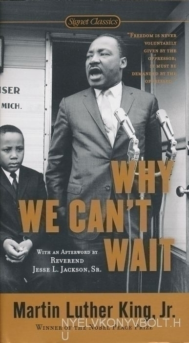 an analysis of why we cant wait by martin luther king jr The martin luther king jr center for nonviolent social change why we can't wait transcribed his analysis of dr king's final publication.