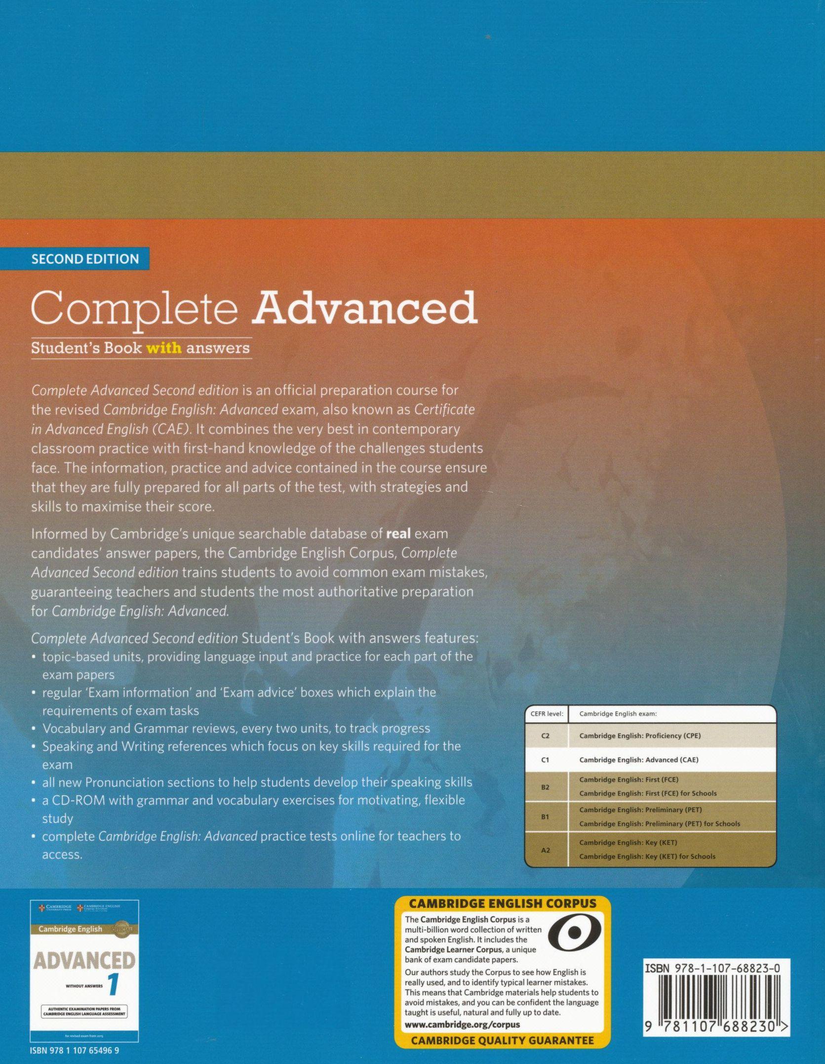Complete Advanced Cambridge Pdf