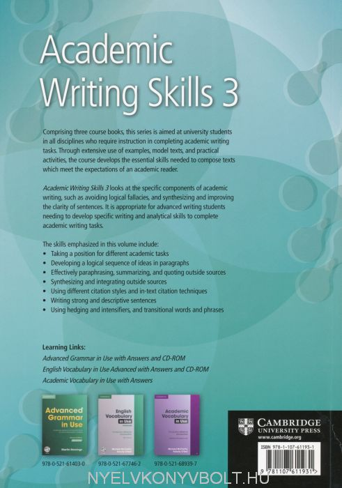 ALS Writing Courses