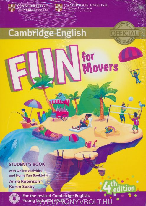 Fun for starters student's book with audio with online activities.