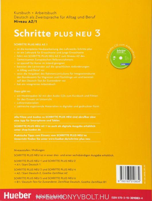 Schritte Plus Neu 3 Deutsch Als Zweitsprache Für Alltag Und Beruf