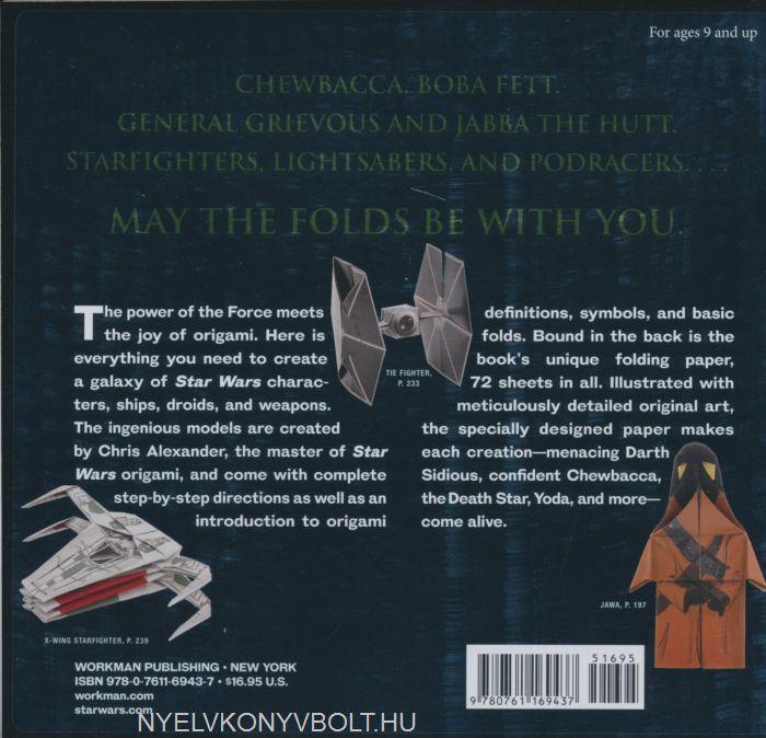 STAR WARS: ORIGAMI (NEUAUFLAGE) Chris Alexander - EUR 20,00 ...   674x700