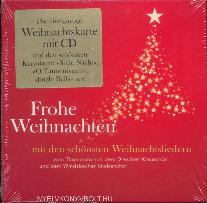 Frohe Weihnachten Cd.Frohe Weihnachten Die Schönsten Weihnachtslieder Audio Cd Liszt