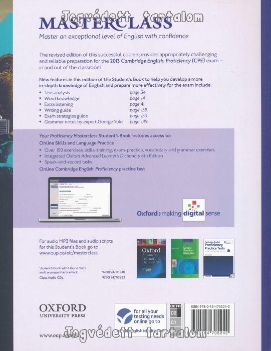 cambridge english proficiency cpe masterclass pdf
