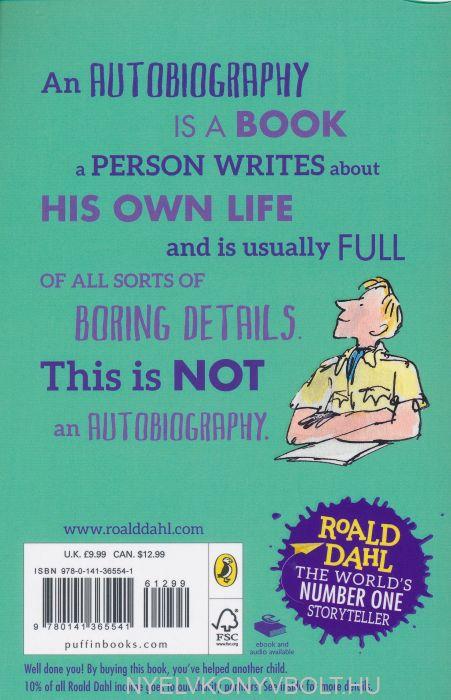 Roald Dahl Boy And Going Solo Nyelvknyv Forgalmazs