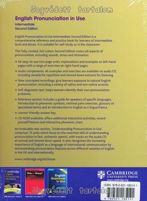 English Pronunciation In Use Intermediate Second Edition Pdf