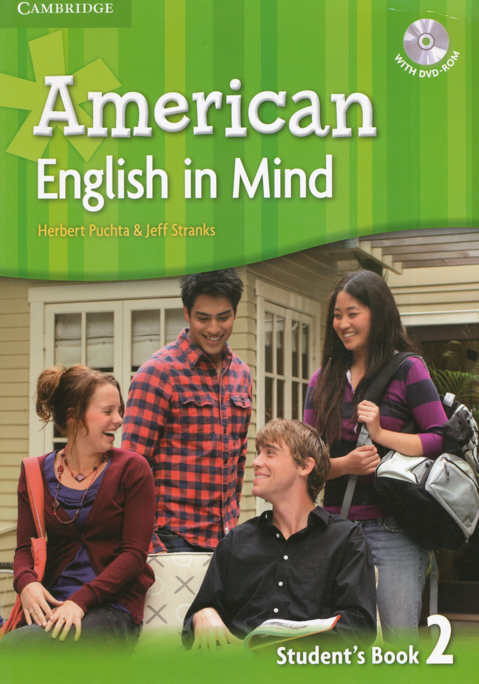 American English In Mind 2 Student S Book With Dvd Rom Gyerekkonyv