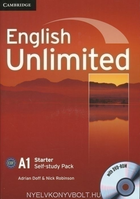 English Unlimited A1 Starter Self-Study Workbook Pack with Key and
