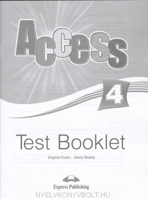 Access 4 test booklet gyerekknyv forgalmazs gyerekknyvbolt access 4 test booklet fandeluxe Images
