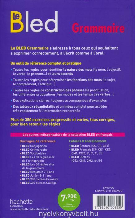 Bassfirti Nouvelle Grammaire Du Francais Pour