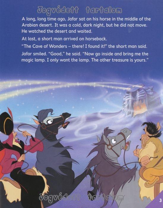 Aladdin Penguin Kids Disney Reader Level 5 Nyelvk 246 Nyv