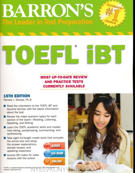 Edition pdf barrons toefl 10th