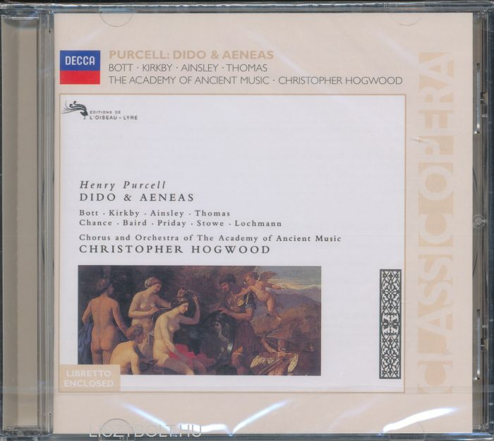 a2 music dido and aeneas Henry purcell dido and aeneas, act ii: when i am laid in earth henry purcell dido and aeneas - overture [janet baker, raimund herincx, english chamber orchestra, anthony lewis.
