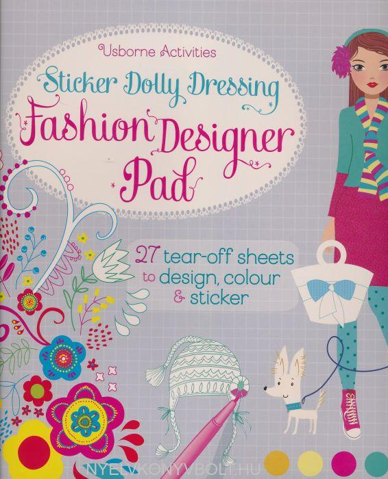 Sticker Dolly Dressing Fashion Designer Pad Nyelvkonyv Forgalmazas Nyelvkonyvbolt Nyelvkonyv Forgalmazas Nyelvkonyvbolt