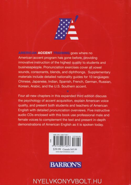 American Accent Training Books
