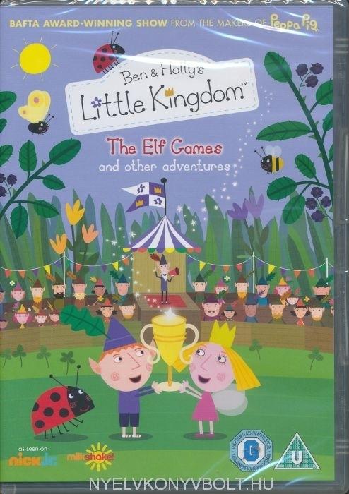 Ben And Hollys Little Kingdom The Elf Games DVD Nyelvknyv Forgalmazs Nyelvknyvbolt