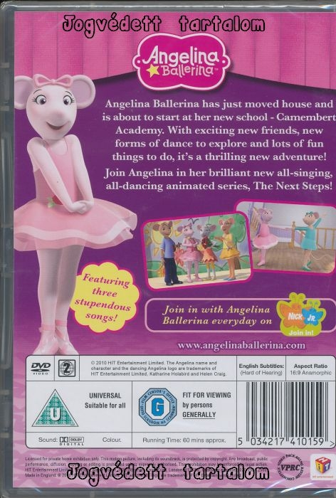 Angelina Ballerina TV Review - Common Sense Media