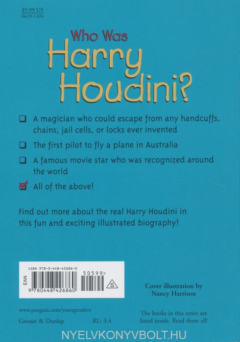 who was harry houdini book pdf