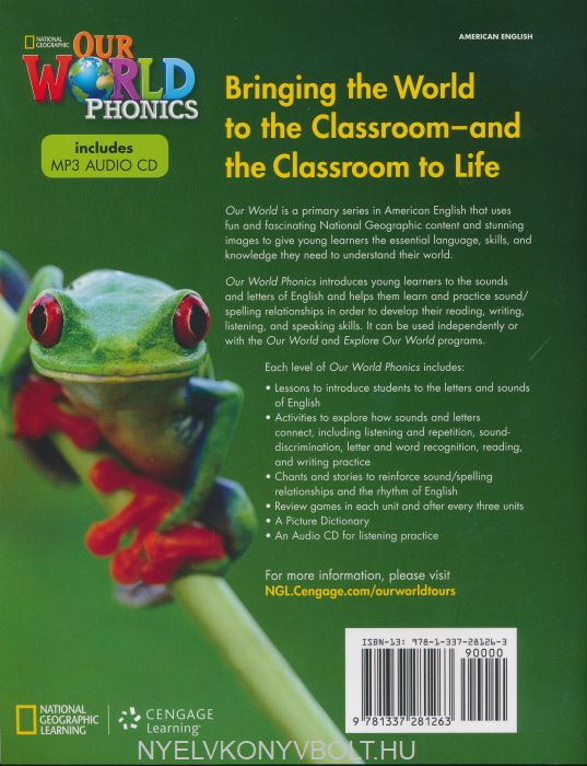 Our World Level 1 Phonics with MP3 Audio CD - American English