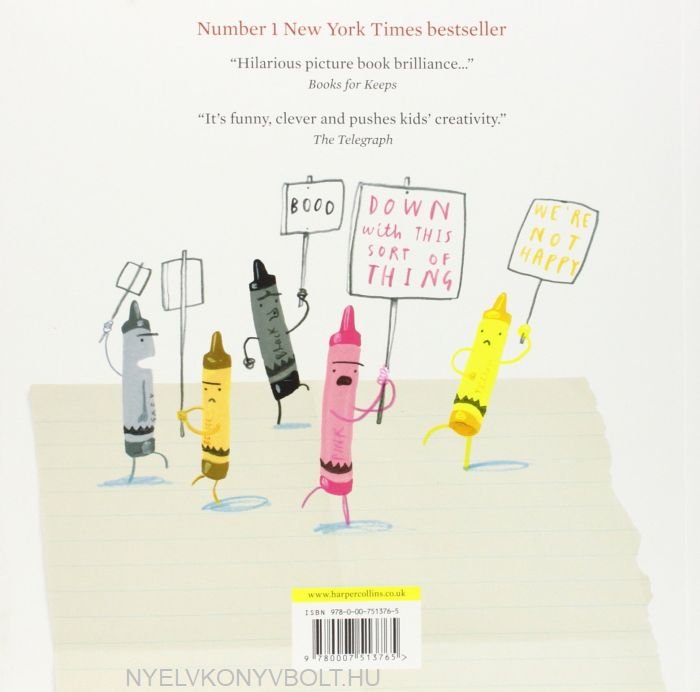 Foreign Language Fiction: Drew Daywalt: The Day The Crayons Quit