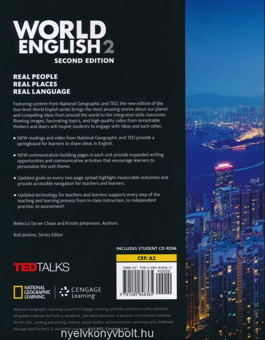 World English 2 Students Book With Student CD Rom