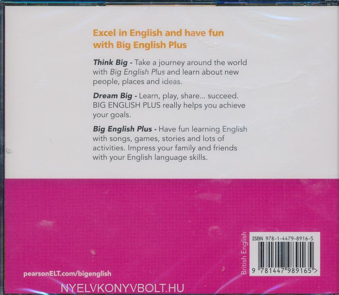 Big English Plus 3 Class Audio CD   Nyelvkönyv forgalmazás