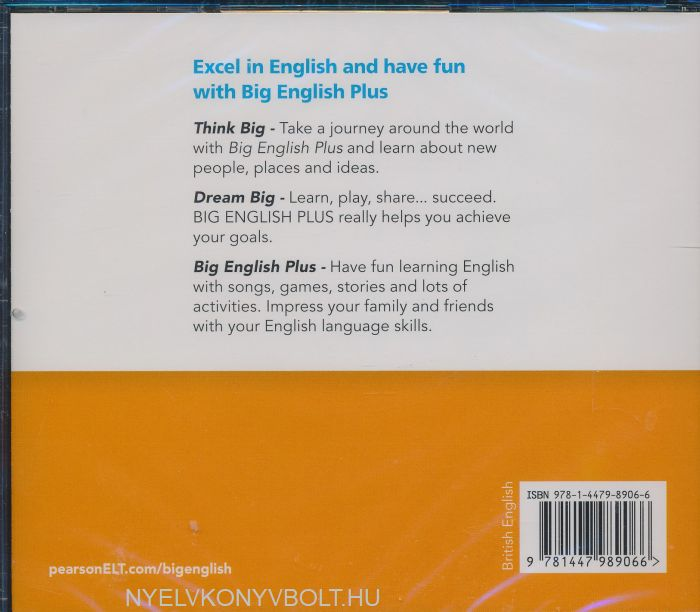 Big English Plus 1 Class Audio CDs | Gyerekkönyv forgalmazás