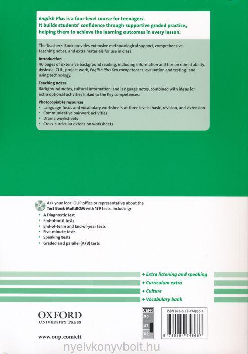 English Plus 3 Teacher\'s Book | Nyelvkönyv forgalmazás ...