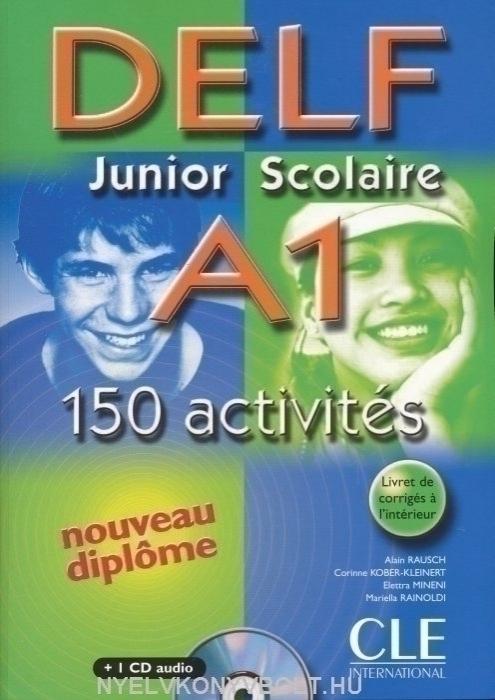 delf junior scolaire b1 200 activites nouveau diplome cd audio