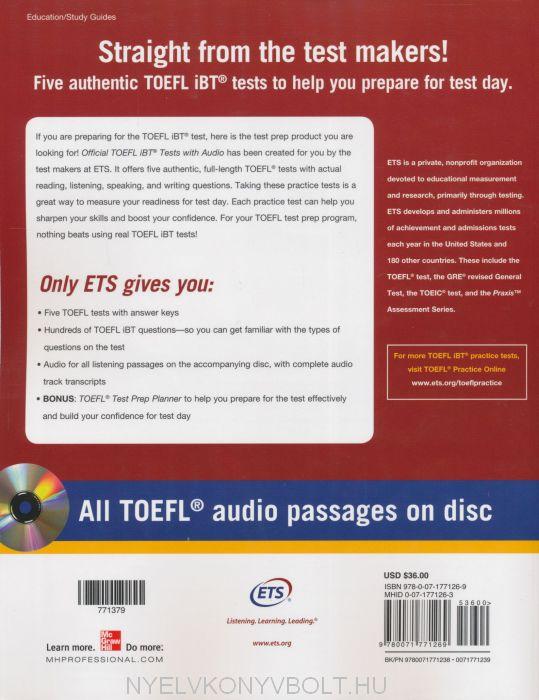 toefl exam preparation book pdf