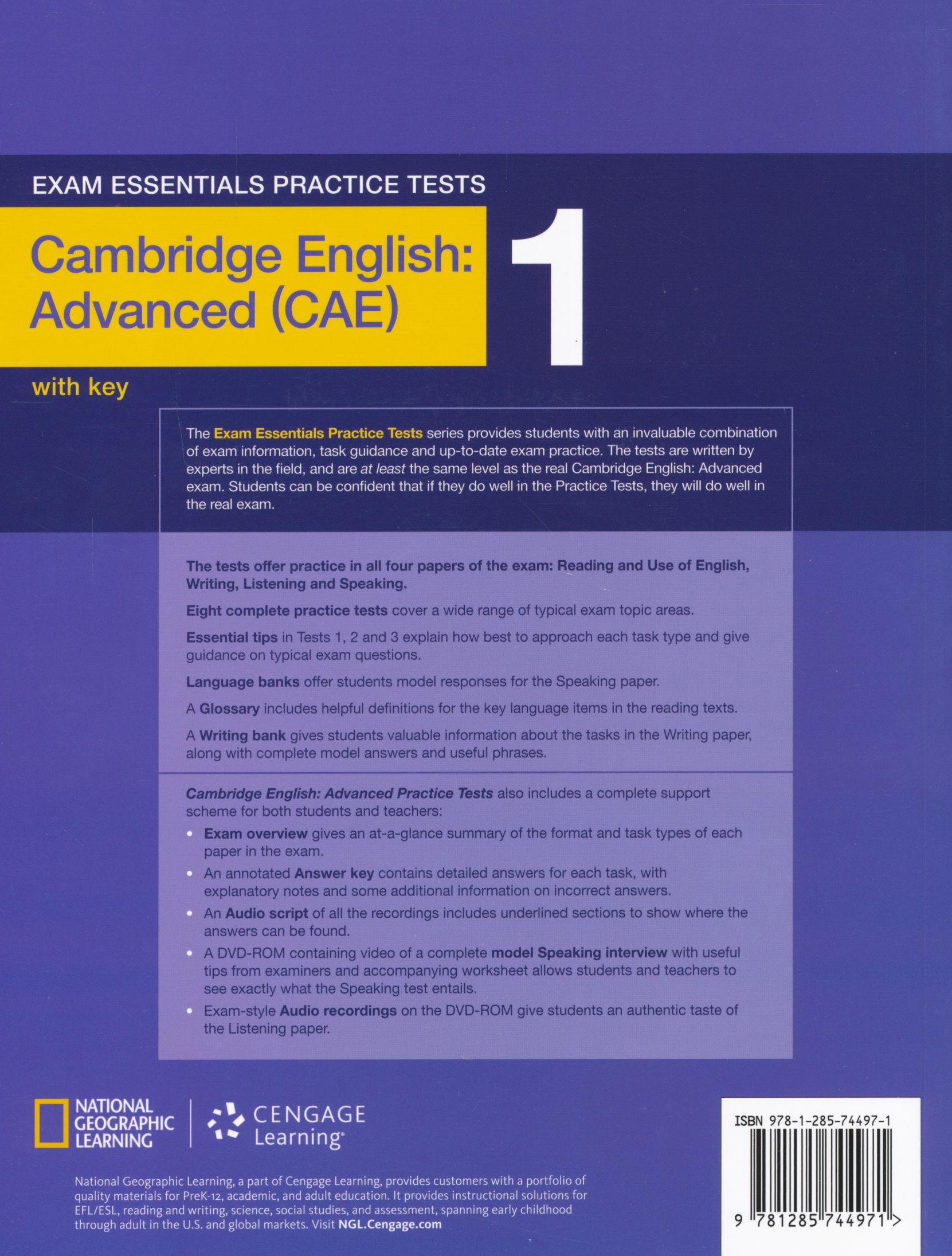 Mark Harrison Cambridge English Advanced Practice Tests ...