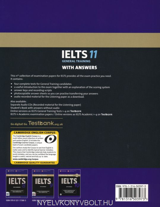 Cambridge IELTS 11 Official Examination Past Papers General
