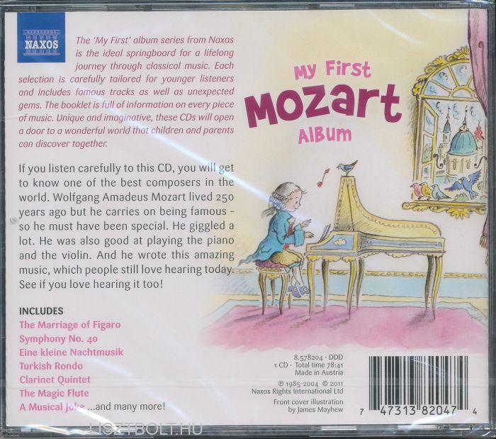 My first Mozart album | Liszt Ferenc Zeneműbolt | Liszt