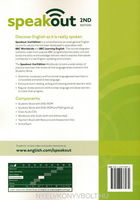 speak out pre intermediate pdf workbook