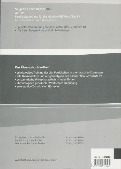 So Gehts Noch Besser Neu A2 B1 Lehrerhandbuch Nyelvkönyv