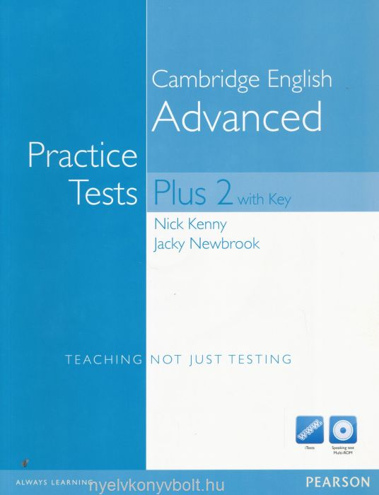 CAE Practice Tests Plus 2 with key and iTests and Speaking ...