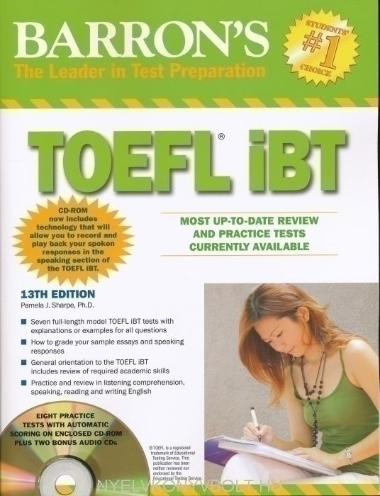 TOEFL IBT BARRONS 13TH EDITION DOWNLOAD