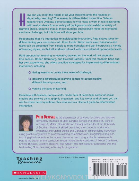 Differentiated Instruction Making It Work A Practical Guide To