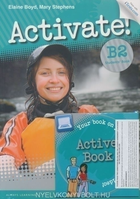 Activate  B2 Students U0026 39  Book And Active Book Pack