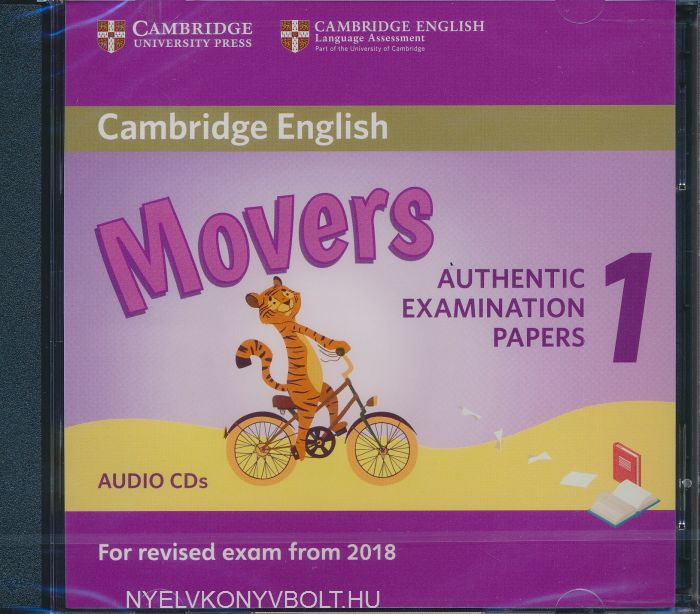 cambridge english movers 1 class audio cds for revised. Black Bedroom Furniture Sets. Home Design Ideas