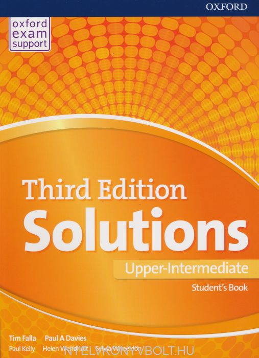 Solutions Third Edition Upper-Intermediate Student\'s Book ...